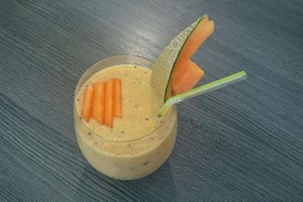 Cantaloupemelone-Smoothie