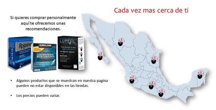 tiendas fisicas de minoxidil en mexico comprar precio