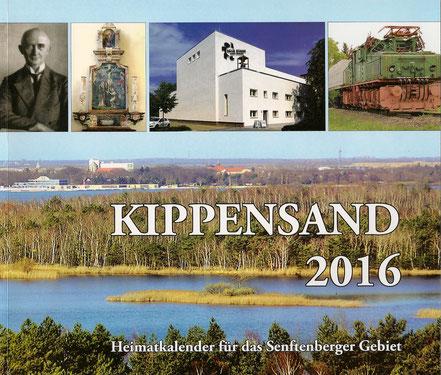 Titelseite Kippensand 2016