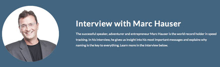 Interview A-Speakers International World Record Holder Marc Hauser