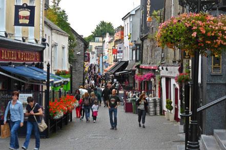 Kilkenny pedestrian street