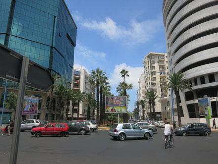 Boulevard Moulay Youssef, place de la Fraternité