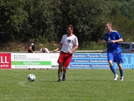 Achim Schenk zeigte eine ordentliche Leistung beim Auswärtsspiel in Hürbel