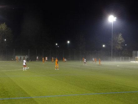 10 Treffer bei Nacht und Nebel.