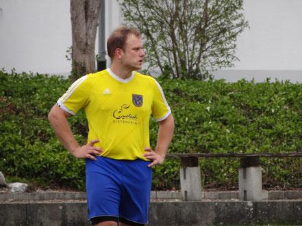 Kevin Losert wusste mit dem Spiel in Orsenhausen nicht viel anzufangen. Mit diesem Eindruck stand er nicht alleine da.