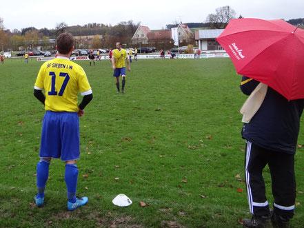 Kevin Metzger (17) wurde für den Torschützen Stefan Fürst eingewechselt.