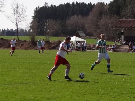 Achim Schenk erzielte den Ehrentreffer für die Sportfreunde.