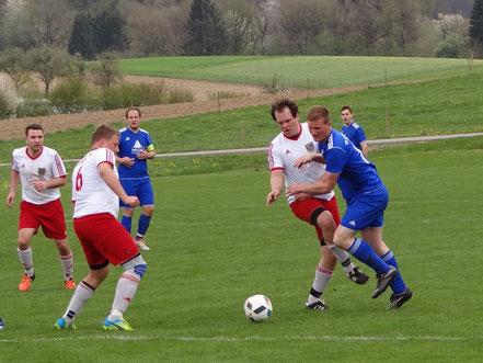 Auch Juri Stengel konnte den Gegner nicht vom Sieg abhalten.