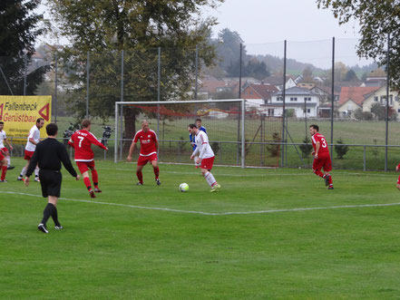 Julian Mayr war gegen den FV Rot erfolgreich.