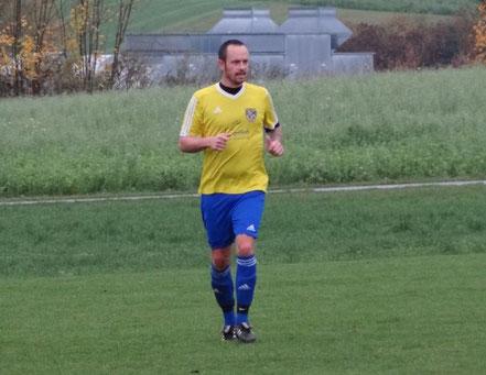 Stefan Fürst ist nach Verletzungspause wieder zurück in der 1. Mannschaft