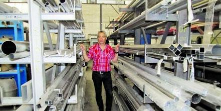« Aujourd'hui se pose le problème du renouvellement du personnel », estime Thierry Labarbe. Thierry Labarbe , directeur de Défi Industrie ( chaudronnerie ) 20131009_e.drouinaud_Copie de IMG_2039_2 © Photo