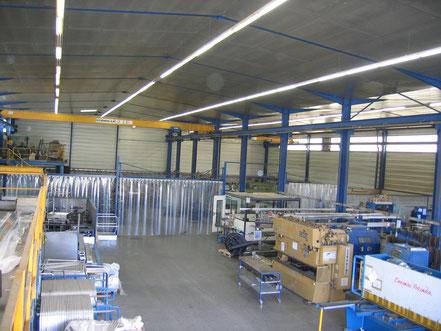 Atelier chaudronnerie de DEFI INDUSTRIES à Estillac à proximité d'AGEN