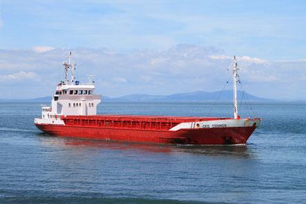 MV CEG COSMOS Lüddeke ReedereiAgentur
