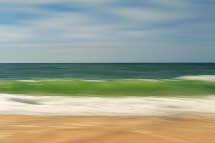 Nordsee, North Sea, wave, Streifzüge, Holger Nimtz, dekorativ, impressionistisch, Impressionismus, abstrakt, Wandbild, malerisch, surreal, Surrealismus, Urlaub, vacation, verwischt, intentional camera movement, ICM, Inspiration,