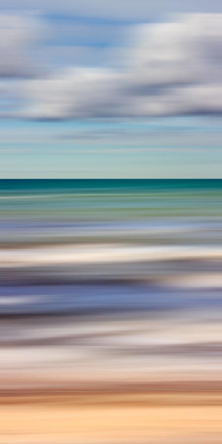 Ostsee, Baltic Sea, early summer, Streifzüge, Holger Nimtz, dekorativ, impressionistisch, Impressionismus, abstrakt, Wandbild, malerisch, surreal, Surrealismus, Urlaub, vacation, verwischt, intentional camera movement, ICM, Inspiration,