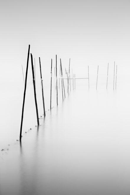 Berlin, Müggelsee, Langzeitbelichtung, longexposure, schwarz-weiß, Minimalismus, minimalism, minimalist, minimalistisch, Holger Nimtz, Wandbild, Kunst, fine art, fotokunst
