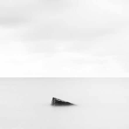 Baltic Sea, Ostsee, schwarz-weiß, Minimalismus, minimalism, minimalist, minimalistisch, Holger Nimtz, Wandbild, Kunst, fine art,