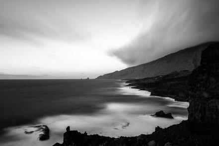 sunset, El Golfo, BUcht, fineart, dekorativ, wallart, El Hierro, Canary Islands, Kanarische Inseln, Kanaren, Holger Nimtz, longexposure, Langzeitbelichtung,