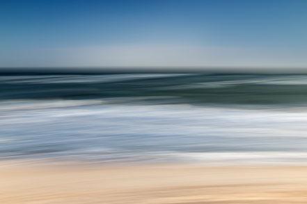 Ostsee, Baltic Sea, Fotokunst, abstract, seascape, abstrakt Meer, Kunst, Strand, beach, Art, Fotografie, photography, wall art, Holger Nimtz, impressionistisch, Impressionismus, Wandbild, malerisch, verwischt,