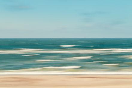 Nordsee, North Sea, stormy sea, Streifzüge, Holger Nimtz, dekorativ, impressionistisch, Impressionismus, abstrakt, Wandbild, malerisch, surreal, Surrealismus, Urlaub, vacation, verwischt, intentional camera movement, ICM, Inspiration,