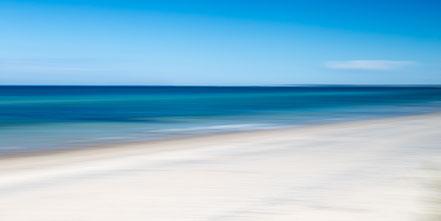 Ostsee, Baltic Sea, long beach, Streifzüge, Holger Nimtz, dekorativ, impressionistisch, Impressionismus, abstrakt, Wandbild, malerisch, surreal, Surrealismus, Urlaub, vacation, verwischt, intentional camera movement, ICM, Inspiration,