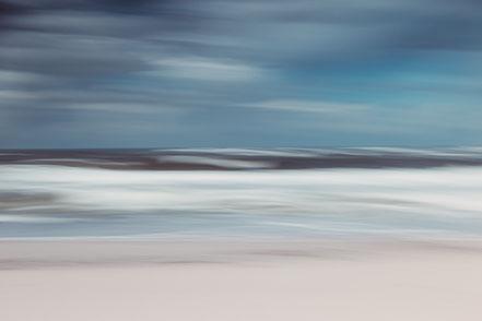 coastal weather, North Sea, Nordsee, Fotokunst, abstract, seascaape, Kunst, Fine Art, Fotografie, photography, wall art, Holger Nimtz, strpies, dekorativ, impressionistisch, Impressionismus, abstrakt, Wandbild, malerisch, surreal, Surrealismus, verwischt,