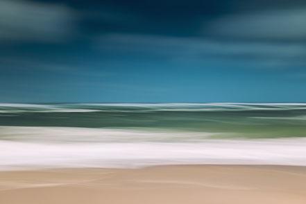 North Sea, Nordsee, Fotokunst, abstract, seascape, Kunst, Fine Art, Fotografie, photography, wall art, Holger Nimtz, Streifen, strpies, dekorativ, impressionistisch, Impressionismus, abstrakt, Wandbild, malerisch, surreal, Surrealismus, verwischt,