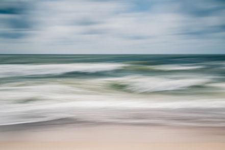 Meer, beach, abstrakt, ICM, minimalistisch, minimalism, Strand, Holger Nimtz, fine art, Fotokunst, minimalist, Nordsee, North Sea,