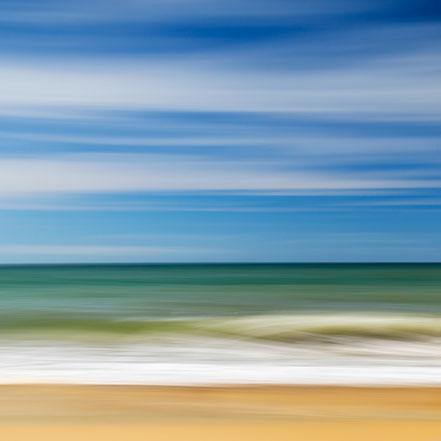 Nordsee, North Sea, Brandung, Streifzüge, Holger Nimtz, dekorativ, impressionistisch, Impressionismus, abstrakt, Wandbild, malerisch, surreal, Surrealismus, Urlaub, vacation, verwischt, intentional camera movement, ICM, Inspiration,