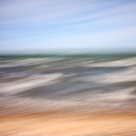 Ostsee, Baltic Sea, beach, Strand, Fotokunst, Kunst, Art, Fotografie, photography, wall art, Streifzuege, Holger Nimtz, Streifen, strpies, dekorativ, impressionistisch, Impressionismus, abstrakt, Wandbild, malerisch, surreal, Surrealismus, verwischt,