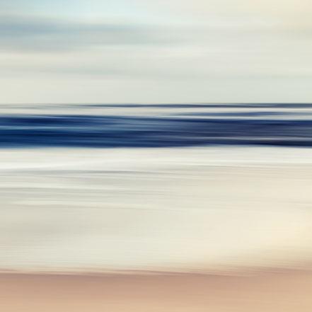 Ostsee, Fotokunst, Kunst, Art, Fotografie, photography, wall art, moody, Baltic Sea, Streifzuege, Holger Nimtz, Streifen, strpies, dekorativ, impressionistisch, Impressionismus, abstrakt, Wandbild, malerisch, surreal, Surrealismus, verwischt,