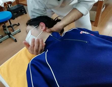 環椎後頭関節の調節