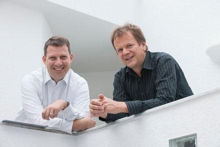 Uli Meinzer und Gerold Köhler, v.l.n.r.