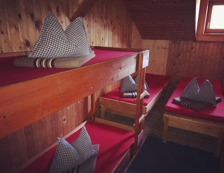 4er Lager auf der Füssener Berhütte