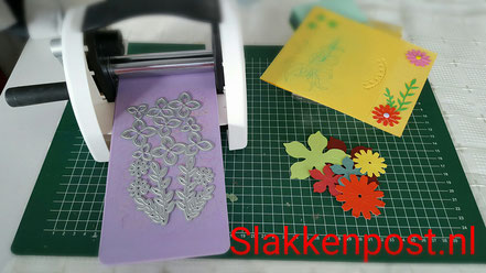 Mijn embossing machine en attributen