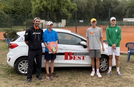 Luis Jourdan (2.P. von rechts) hat den 3.Platz bei der u15 Kategorie in Altrip erreicht. Herzlichen Glückwunsch!
