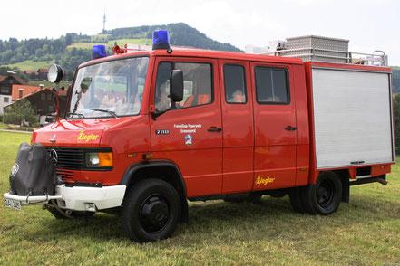 Löschfahrzeug LF8 der Feuerwehr Ermengerst
