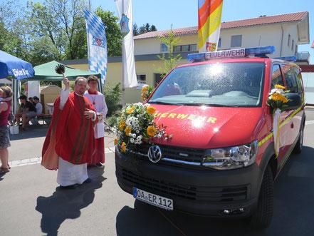 Mannschaftstransportwagen MTW 14/1 Feuerwehr Ermengerst