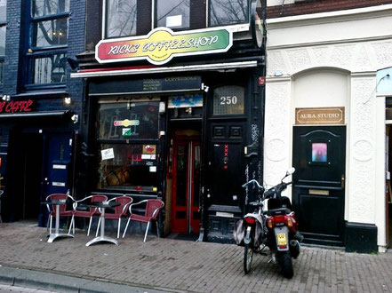 ricks coffee shop amsterdam