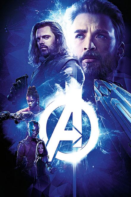 Avengers Infinity War - Chris Evans Steve Rogers Captain America - Marvel - kulturmaterial
