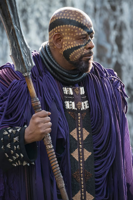 Black Panther Character Zuri - Forest Whitaker - Marvel - kulturmaterial