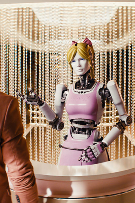 Kingsman The Golden Circle - Claudia Schiffer The Beauty Bot - Fox - kulturmaterial