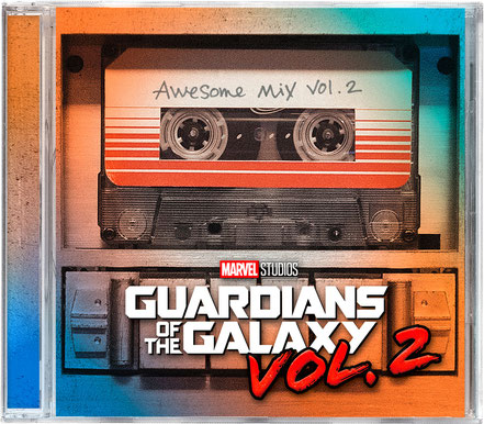 Guardians Of The Galaxy 2 Soundtrack - Marvel - kulturmaterial