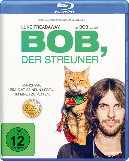 BOB DER STREUNER Film - CONCORDE - kulturmaterial - Blu-ray