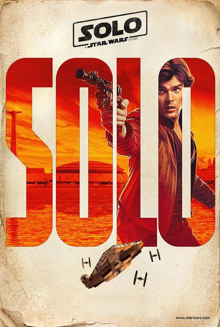 STAR WARS SOLO - Han Solo - Alden Ehrenreich - Lucasfilm - kulturmaterial