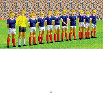 Retro Videospiele - Tehkan World Cup - 8-Bit - Bildband - EarBooks - kulturmaterial - 100