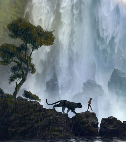 The Jungle Book - Disney - kulturmaterial - Concept Art - L