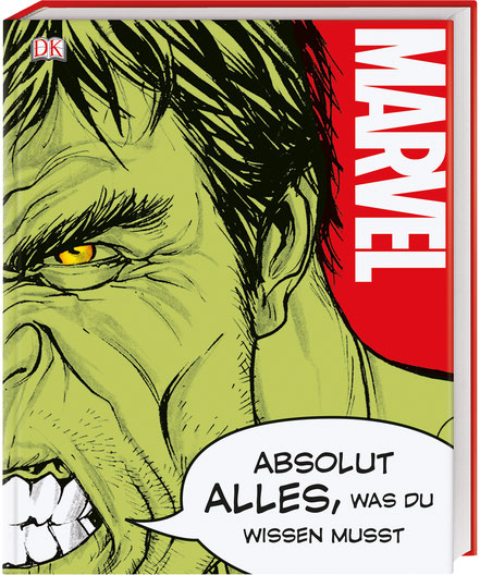 Marvel Bücher - Absolut Alles Was Du Wissen Musst - Dorling Kindersley - kulturmaterial - Cover