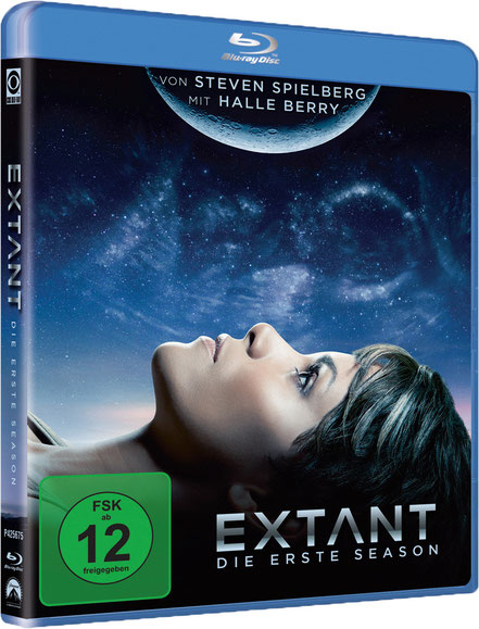 Extant Serie - Halle Berry - Paramount - kulturmaterial - Blu-ray Box