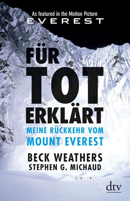 Für Tot Erklärt - Beck Weathers - dtv - kulturmaterial